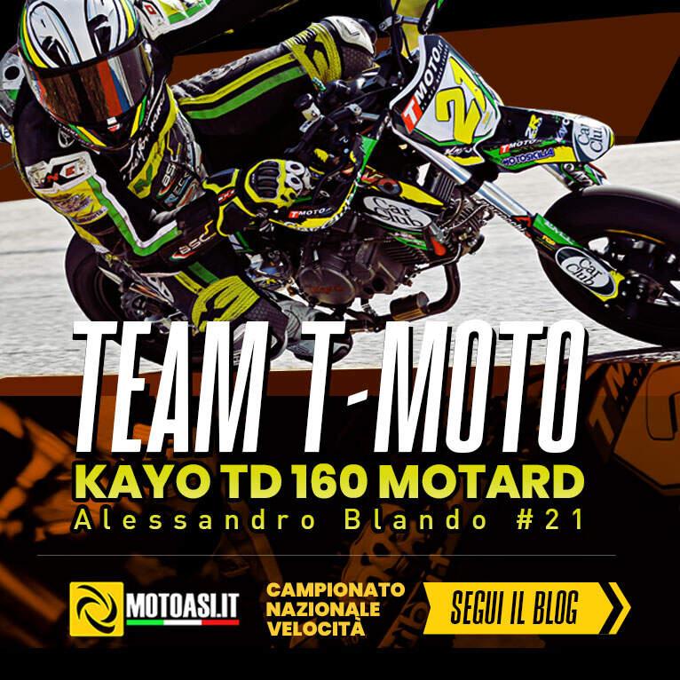 Terzo posto del team T-moto nel campionato italiano velocità - immagine