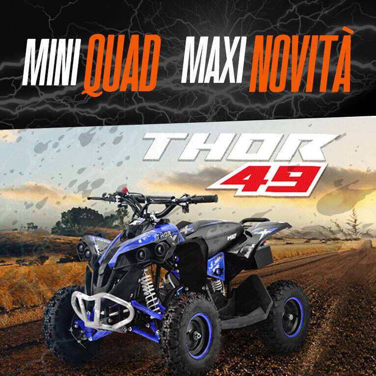 Mini quad thor 49cc - immagine